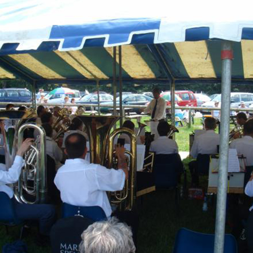 Bands at Tadley Rugby Club 2006