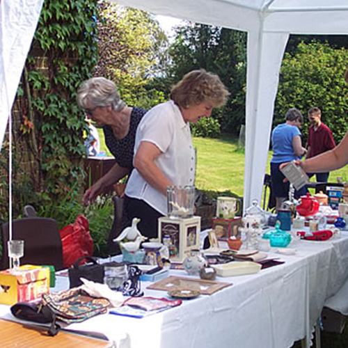 St Pauls Cream Teas Garden Party 2002