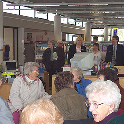 Tadley Library Open Day 2004